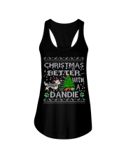 Christmas Is Better With A Dandie Ladies Flowy Tank thumbnail