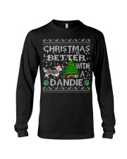 Christmas Is Better With A Dandie Long Sleeve Tee thumbnail