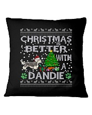 Christmas Is Better With A Dandie Square Pillowcase thumbnail