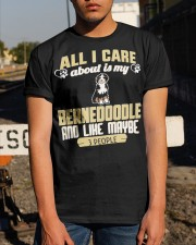 All I Care About Is My Bernedoodle Classic T-Shirt apparel-classic-tshirt-lifestyle-29