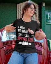 I Was Normal 3 Sphynx Cats Ago Ladies T-Shirt apparel-ladies-t-shirt-lifestyle-01
