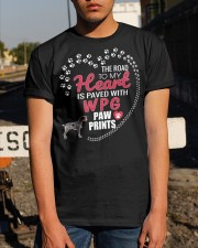 My Heart Paved With WPG Paw Prints Classic T-Shirt apparel-classic-tshirt-lifestyle-29