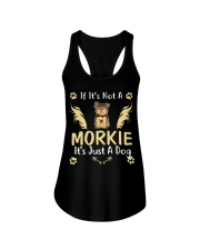 It Is Just A Morkie Ladies Flowy Tank thumbnail