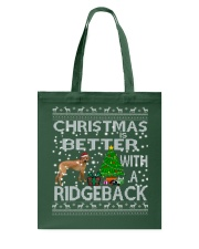 Christmas Is Better With A Rhodesian Ridgeback Tote Bag thumbnail
