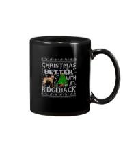 Christmas Is Better With A Rhodesian Ridgeback Mug thumbnail