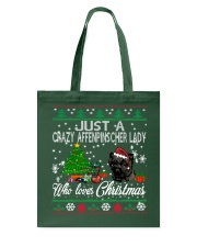 Just A Girl Who Loves Christmas And Affenpinscher Tote Bag thumbnail