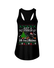 Just A Girl Who Loves Christmas And Affenpinscher Ladies Flowy Tank thumbnail