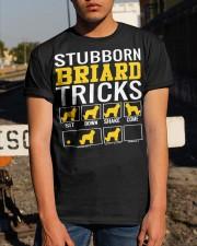 Stubborn Briard Tricks Classic T-Shirt apparel-classic-tshirt-lifestyle-29