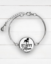 STAFFY MOM  Metallic Circle Bracelet aos-bracelet-metal-front-lifestyle-2