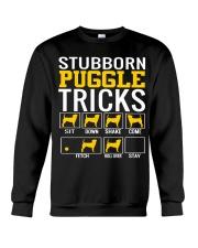 Stubborn Puggles Tricks Crewneck Sweatshirt thumbnail