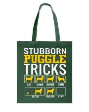 Stubborn Puggles Tricks Tote Bag thumbnail