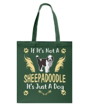 It Is Just A Sheepadoodle Tote Bag thumbnail