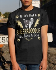 It Is Just A Sheepadoodle Classic T-Shirt apparel-classic-tshirt-lifestyle-29