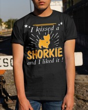 I Kissed A Shorkie I Liked It Classic T-Shirt apparel-classic-tshirt-lifestyle-29