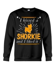 I Kissed A Shorkie I Liked It Crewneck Sweatshirt thumbnail