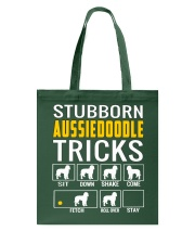 Stubborn Aussiedoodle Tricks Tote Bag tile