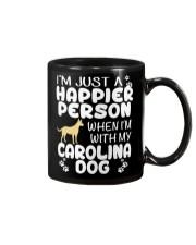 Happier Person Carolina Dog Mug thumbnail