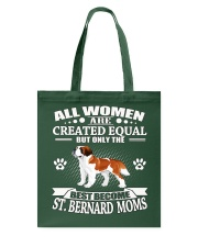 Saint Bernard Mom Tote Bag thumbnail