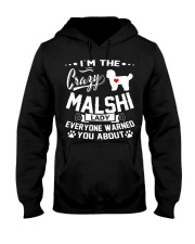 Crazy Malshi Lady Hooded Sweatshirt thumbnail