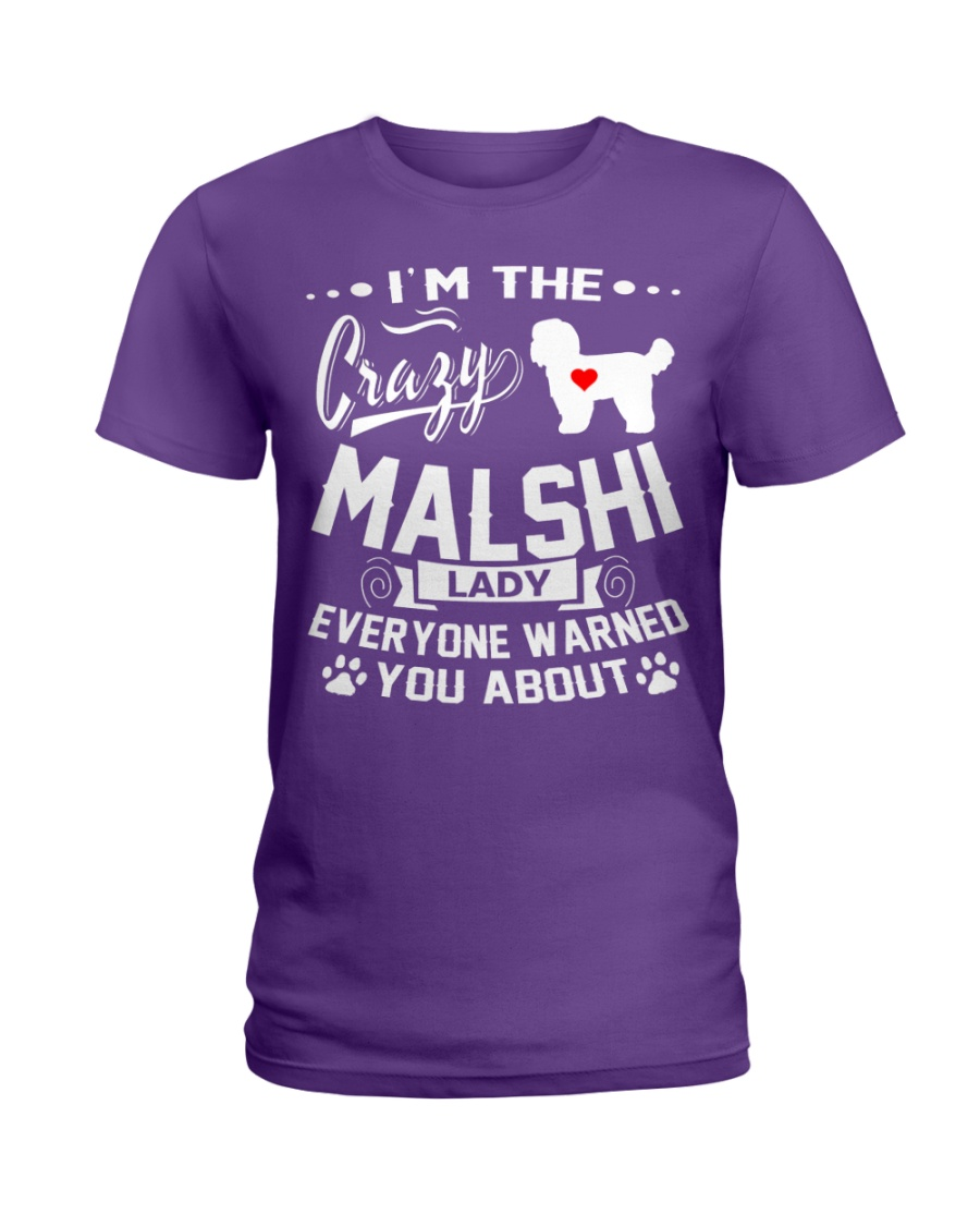 Crazy Malshi Lady Ladies T-Shirt