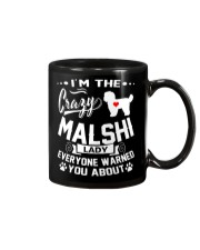 Crazy Malshi Lady Mug tile