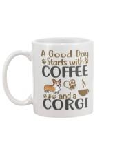 A Good Day WIth Corgi And Coffee Mug back