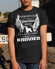 My Guardian Angel Is A Bouvier Classic T-Shirt apparel-classic-tshirt-lifestyle-29
