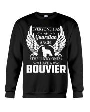My Guardian Angel Is A Bouvier Crewneck Sweatshirt thumbnail