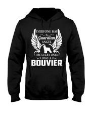 My Guardian Angel Is A Bouvier Hooded Sweatshirt thumbnail