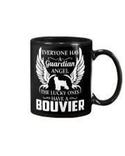 My Guardian Angel Is A Bouvier Mug thumbnail