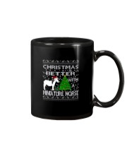 Christmas Is Better WIth A Miniature Horse Mug thumbnail
