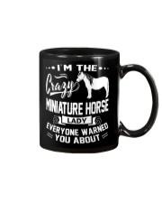 CRAZY MINIATURE HORSE LADY Mug thumbnail