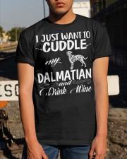 I Just Want Cuddle My Dalmatian Classic T-Shirt apparel-classic-tshirt-lifestyle-29