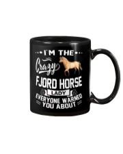 CRAZY FJORD HORSE LADY Mug thumbnail