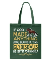 CLYDESDALE HORSE  Tote Bag thumbnail
