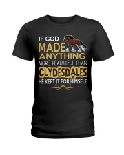 CLYDESDALE HORSE  Ladies T-Shirt front