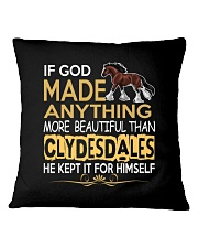CLYDESDALE HORSE  Square Pillowcase thumbnail