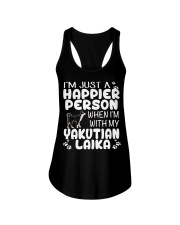 Happier Person Yakutian Laika Ladies Flowy Tank thumbnail