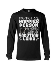 Happier Person Yakutian Laika Long Sleeve Tee thumbnail