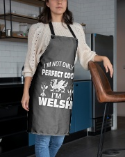 I am a Welsh Perfect Cook Apron aos-apron-27x30-lifestyle-front-02