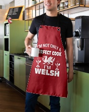 I am a Welsh Perfect Cook Apron aos-apron-27x30-lifestyle-front-01