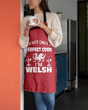 I am a Welsh Perfect Cook Apron aos-apron-27x30-lifestyle-front-05