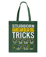 Stubborn Karelian Bear Dog Tricks Tote Bag thumbnail