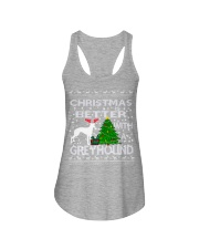 Christmas Is Better With A Greyhound Ladies Flowy Tank thumbnail