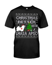 Christmas Is Better With A Lhasa Apso Classic T-Shirt thumbnail