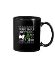 Christmas Is Better With A Lhasa Apso Mug thumbnail