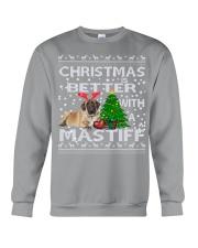 Christmas Is Better WIth A Mastiff Crewneck Sweatshirt tile
