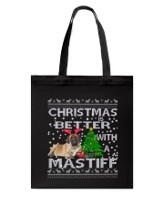 Christmas Is Better WIth A Mastiff Tote Bag thumbnail