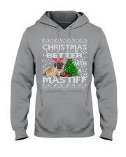 Christmas Is Better WIth A Mastiff Hooded Sweatshirt thumbnail