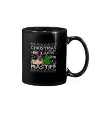 Christmas Is Better WIth A Mastiff Mug thumbnail